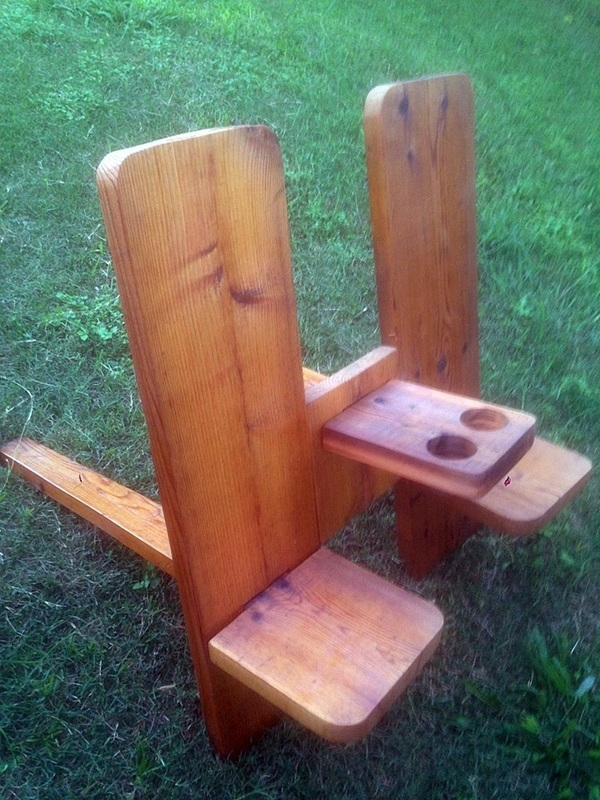 I Made My First Plank Chairs In 1993 And They Have Survived For Over 20  Years Of Texas Weather Without A Break! The Simple Design Has Been Around  For ...